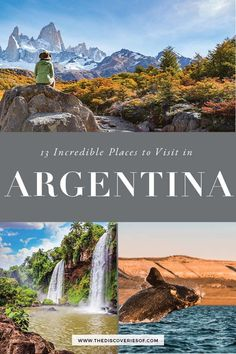 13 awesome things to do in Argentina! Check out the best Argentina travel destinations for food culture and beaches in this whirlwind travel guide. Want to explore Buenos Aires Salta Patagonia Bariloche Iguazu Falls and more? Check it out! Cool Places To Visit, Places To Travel, Travel Destinations, Places To Go, Time Travel, Travel Things, Backpacking South America, South America Travel, Bora Bora