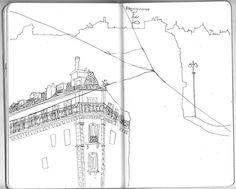 Paris sketchbook www.illuninare.de