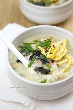Tteokguk (Korean Rice Cake Soup) | cHowDivine.com