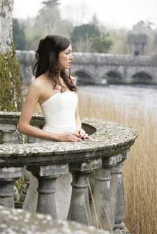 Wedding Photo taken at Ashford Castle, Ireland