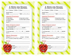 Love these. They are so cute!! Use them every time we need to send a note to school.