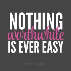 "Declutterathon: 26 weeks to an organized life. This is my decluttering mantra, ""Nothing worthwhile is ever easy."" It may not be easy, but it will be worth it!"