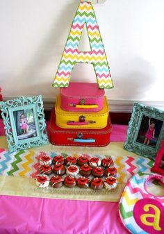 Sweet Sesame Street party welcome table #sesamestreet