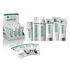 Buy Biofreeze Professional Pain Relief Gels, Roll-ons & Sprays on SALE! The NEW Professional Strength Biofreeze formula lasts longer and penetrates faster. Massage Place, Pain Relief