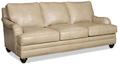 Derring Leather Sofa and matching loveseat make a great leather sofa set for any decor.