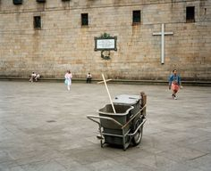 Magnum Photos Photographer Portfolio - Martin Parr SPAIN. Santiago de Compostela. 1993.