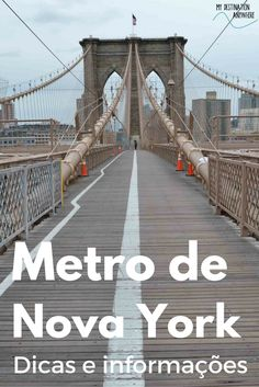Metro de Nova York: Dicas, Informações e Horários