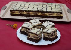 Chocolate Recipes, Chocolate Cake, Cream Cheese Flan, Cookie Recipes, Dessert Recipes, Romanian Desserts, Fantasy Cake, Polish Recipes, Pastry Cake