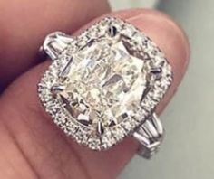 Cushion Cut, Vintage Rings, Diamonds, Engagement Rings, Pearls, Crystals, Jewelry, Enagement Rings, Wedding Rings