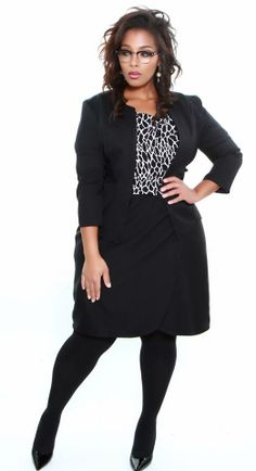 Ponte' Knit Faux Wrap Suit Skirt from Wole' LLC (@Wole' (Woah lay))  www.woledesigns.com