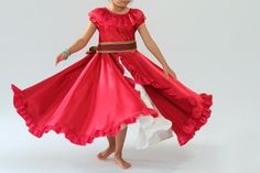 Peaches and Bees: Elena of Avalor Dress for Little Momo