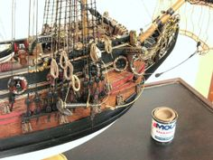 HMS Prince 1/144 Scale Model