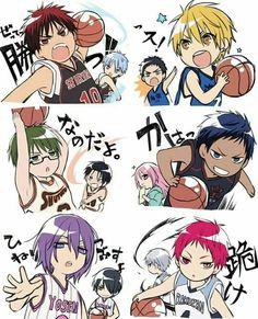 anime, kuroko tetsuya, and kagami taiga image