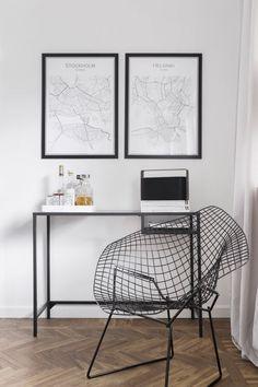 Lägenhet till salu med massor av fina DIY projekt