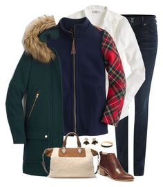 """""""Untitled #4213"""" by shopwithm ❤ liked on Polyvore featuring Hudson Jeans, J.Crew and Madewell"""