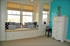 black and white window treatments - Google Search