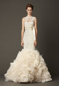 White By Vera Wang Bridal Collection Fall 2013 - but without the lace at the top