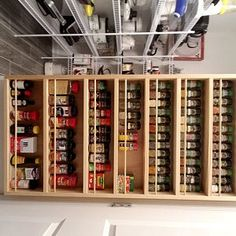 Spice rack mounted on the door pantry door mounted spice Spice Rack On Pantry Door, Pantry Door Storage, Spice Storage, Spice Organization, Organizing, Spice Rack Uses, Door Mounted Spice Rack, Hollow Wall Anchors, Grill Table