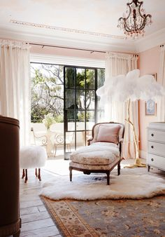 Child's bedroom from Italianate Mansion in Sydney by Dylan Farrell Design. Photography: Prue Ruscoe | Styling: Karen Cotton | Story: Belle