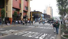 #Apristas se enfrentaron a #nacionalistas y policías en su manifestación a favor de #AlanGarcía [#FOTOS]