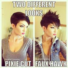 Perfect Pixie Cut! #hairstyle #shorthair #hairdo - bellashoot.com