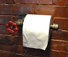 Industrial Toilet Paper Holder - http://www.studioaflo.com/others/industrial-toilet-paper-holder/