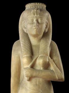 Amenirdis statue, of the 25th Nubian dynasty.