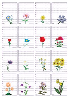 Un jeu de 48 cartes sur le thème des fleurs pour jouer à la bataille en comparant les longueurs et les chiffres de 0 à 9. Diy And Crafts, Crafts For Kids, French Teaching Resources, Boarders And Frames, Montessori, Spring Theme, Writing Paper, Spring Crafts, Flower Crafts