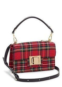 STEVE MADDEN CROSSBODY This Steve Madden crossbody can shoulder the responsibility for stylishly carrying your everyday essentials. The locking flap closure seals the deal for hands-free convenience. Tartan Fashion, Scottish Fashion, Floppy Hats, Burberry Handbags, Womens Purses, Handbags Online, Tartan Plaid, Handbag Accessories, Fashion Bags