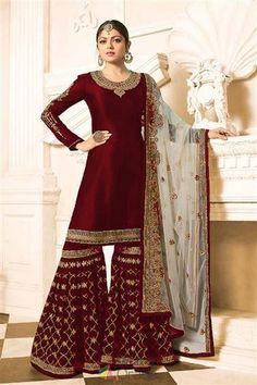Latest trend festive wear bollywood style salwar suit in london Pakistani Bridal Dresses, Indian Dresses, Indian Outfits, Bollywood Suits, Bollywood Fashion, Muslim Fashion, Indian Fashion, Suit Fashion, Trendy Fashion