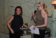 Stephanie March and CNN national correspondent Alina Cho) at