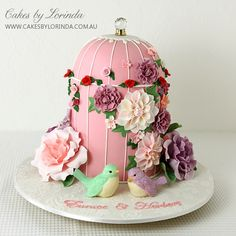Beautiful bird cage cake » Lorinda Seto