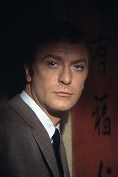 Took me a minute to recognise him..  Michael Caine