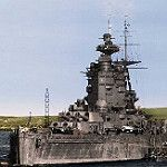 Now this is what a battleship SHOULD look like..HMS Nelson c.1943 by umbry101