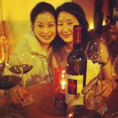 Argiolas wine tasting in Hong Kong: Turriga in the Goccia restaurant with Gin Gallery