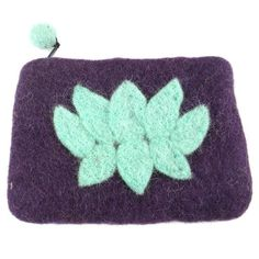 Lotus Flower Felt Coin Purse - Wine - Global Groove (P) ➤ USD This lined felt coin purse with lotus flower accent is 5 by 4 inches in size. Zipper closure with pom pom pull. Imagination Toys, Felt Purse, Braided Rugs, Create And Craft, Handmade Baby, Lotus Flower, Purses And Handbags, Coin Purses, Fair Trade