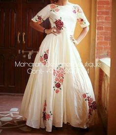 Buy Western Dresses online from the trendy range of casual dresses, formal dresses & western dresses in various sizes from Maharani Designer Boutique Indian Gowns, Indian Outfits, Indian Clothes, Indian Wear, Kurta Designs, Blouse Designs, Dress Designs, Red Lehenga, Lehenga Choli