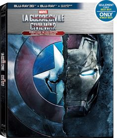 Captain America Civil Way Bluray Steelbook