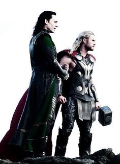 Loki & Thor in Thor: The Dark World
