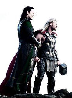 Loki & Thor in Thor: The Dark World