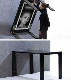 7. Fold-up Picture Table | Space Saving Ideas For Your Studio Apartment