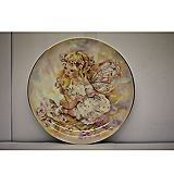 Baby Rosebud Faerie Poppets Plate by Christine Haworth