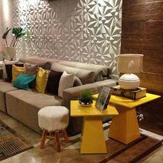 Repost de @pollyanarangel_arq utilizando Revestimento Solis em seu projeto, amamos o resultado 👏👏👏🔝🔝🔝😍😍😍#revestimento #tile #covering #Picoftheday #interiordesign #instadecor #interiores #design #decor #instadesign #walldecor #maski #concrete #handmade #tiles