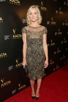 On retrouve la belle Yvonne Strahovski lors du 3rd AACTA International Awards à Hollywood, le 10 janvier 2014. Le rôle principal de AACTA est de reconnaître, d'encourager, de promouvoir et de célébrer le cinéma et la télévision en Australie.