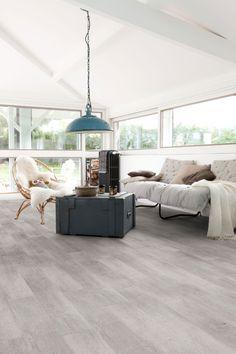Home plus Stick - New washed: Zelfklevende pvc laminaat vloer