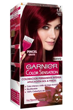 Loreal Hair Color Red, Deep Red Hair Color, Violet Hair Colors, Bold Hair Color, Hair Color Cream, Cute Hair Colors, Bright Red Hair, Bright Hair Colors, Beautiful Hair Color