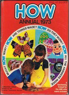 How Annual 1973, Elizabeth Macgregor (editor)