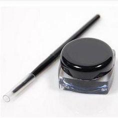 New Waterproof Eye Liner Eyeliner Shadow Gel Makeup Cosmetic + Brush Black Generic http://www.amazon.com/dp/B00GQU5YY0/ref=cm_sw_r_pi_dp_p.cOub0D45F1C