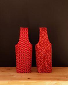 Innabi Wine Carrier - Red - Chameleon Goods - $14.95 #winelover #wineaccessories