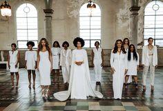 Solange Knowles wedding fashion.